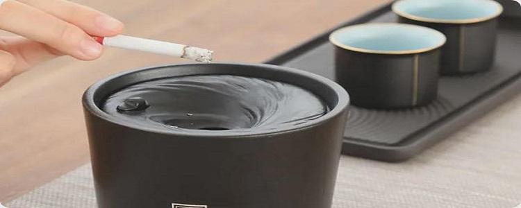 烟灰缸里为什么不能倒水