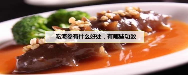 吃海参有什么好处,有哪些功效