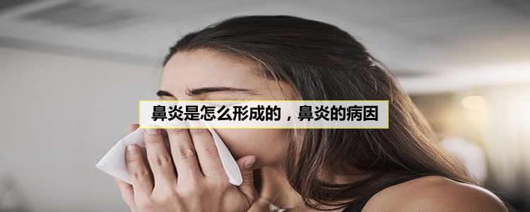 鼻炎是怎么形成的,鼻炎的5大病因