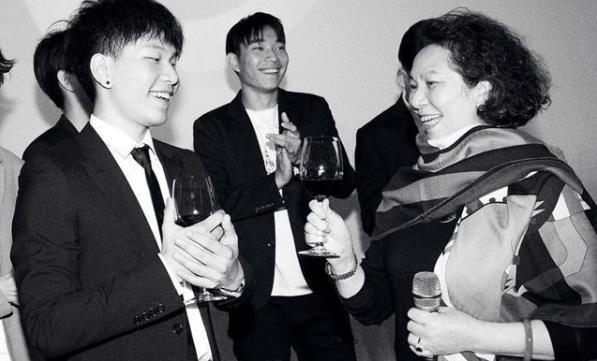 陈坤为儿子庆生